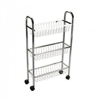 TROLLEY WITH WHEELS AND 3 BASK VERSA 18462713