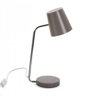 TABLE DE LAMPE SAVOY GRIS VERSA 20840045