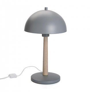 LAMPE DE TABLE TRISHNA GRIS VERSA 21460002
