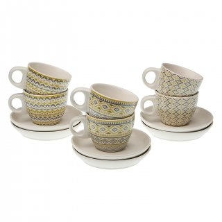 SET 6 TASSES CAFÉ AVEC ASSIET. VERSA 19470089