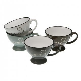 SET 4 TASSES HELLO VERSA 19470092