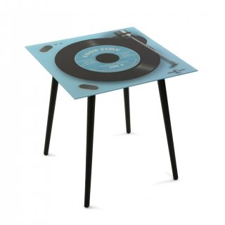 TABLE EN VERRE RECORD PLAYER VERSA 20231270