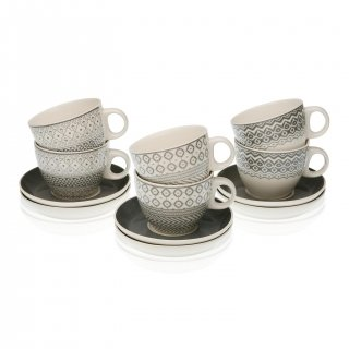 SET 6 TASSES ETHNIC VERSA 19470094