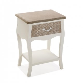 TABLE DE CHEVET 1 TIROIR VERSA 21530012