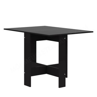 TABLE PLIANTE 2 ABATTANTS NOIR Papillon SYMBIOSIS 2050A7676X00