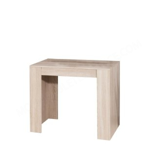CONSOLE EXTENSIBLE CHENE NATUREL Elastic SYMBIOSIS 2070A3400X00