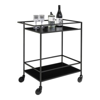 Chariot de bar noir- Collection Vita - House Nordic