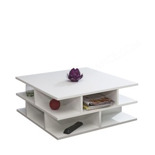 TABLE BASSE MULTICASES BLANC MILLE-FEUILLE SYMBIOSIS 2130A2100X00