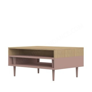 TABLE BASSE HORIZON CHENE CLAIR ROSE HORIZON SYMBIOSIS 2150A5100X00