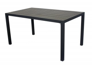 Table A Manger SARANA 150 en ALUMINIUM ANTHRACITE INDOOR OUTDOOR 31506