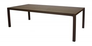 Table A Manger SARANA 300 en ALUMINIUM CHAMPAGNE INDOOR OUTDOOR 31536