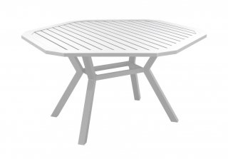 Table A Manger AYMA 150 en ALUMINIUM BLANC INDOOR OUTDOOR 31544
