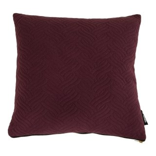 Coussin rouge bordeaux 45x45cm - Collection Ferrel - House Nordic
