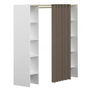 DRESSING 2 clonnes Blanc - RIDEAU TAUPE Jerry SYMBIOSIS 4021X2191R00