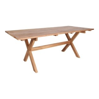 Table de jardin en teck recyclé  - Collection Murcie - House Nordic