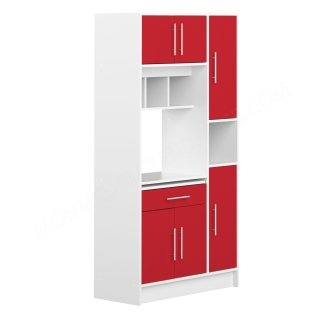 DESSERTE BUFFET MO BLANC ROUGE Louise SYMBIOSIS 8070X2179A80