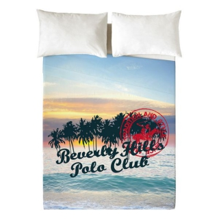 Jeu de draps Beverly Hills Polo Club Hawaii (Lit de 135)
