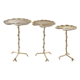Table d'Appoint Dekodonia Aluminium (3 pcs)