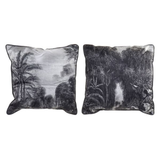 Coussin Dekodonia Polyester Jungle (45 x 45 cm) (2 pcs)