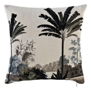 Coussin Dekodonia Jungle Coton (45 x 45 cm)
