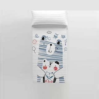 Couette réversible Daddy Bear Cool Kids (Lit de 105)