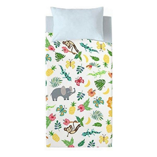 Jeu de draps Costura Jungle Exotic (Lit de 90)