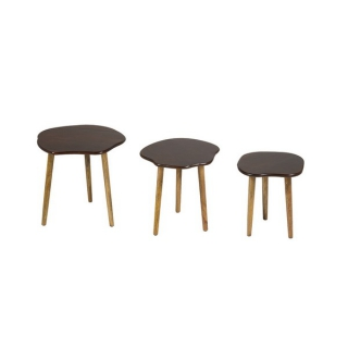 Set de 3 Tables Gigognes Bois de manguier