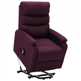 Fauteuil inclinable Violet Tissu