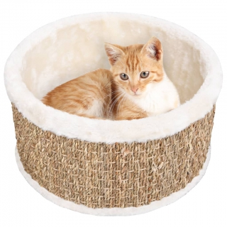 Panier pour chat rond 36 cm Herbiers marins