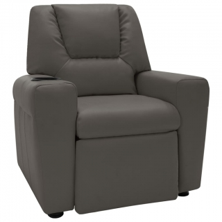Fauteuil inclinable Similicuir Gris anthracite