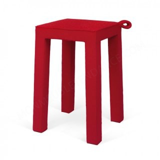 Tabouret HANDLE - rouge TEMAHOME 9000.130021