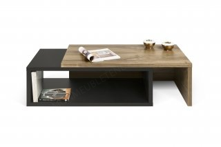 Table basse Jazz - noyer/noir TEMAHOME 9000.624438