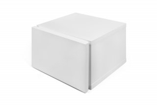 Table de chevet Float - blanc mat TEMAHOME 9000.759642