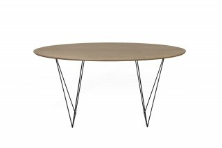 Table Row 150 - noyer/noir TEMAHOME 9500.053535