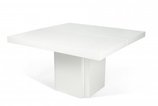 Table Dusk - blanc 130x130 cm TEMAHOME 9500.612602
