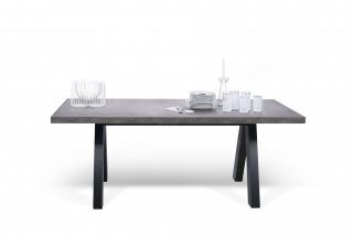 Table Apex - béton TEMAHOME 9500.612893