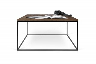 Table basse GLEAM 75 - effet rouille/noir TEMAHOME 9500.626623