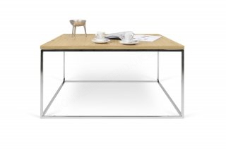 Table basse GLEAM 75 - chêne/chrome TEMAHOME 9500.626630