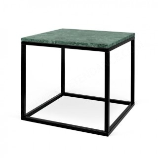 Table d'appoint Prairie 50 Marble - marbre vert/noir TEMAHOME 9500.626722