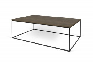 Table basse GLEAM 120 - noyer / noir TEMAHOME 9500.628801