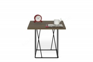Table d'appoint HELIX 50 - noyer/black TEMAHOME 9500.628818