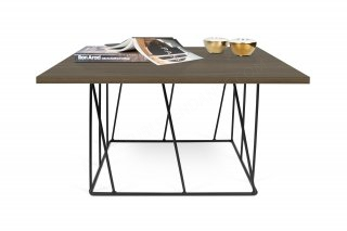 Table basse HELIX 75 - noyer/noir TEMAHOME 9500.628825