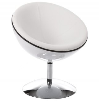 Fauteuil design SPHERE KOKOON AC00430WHWH