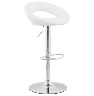 Tabouret de bar design ATLANTIS KOKOON BS00810WH
