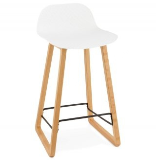 Tabouret de bar design ASTORIA KOKOON BS01380WH