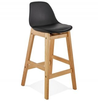 Tabouret de bar design ELODY MINI KOKOON BS01450BLBL
