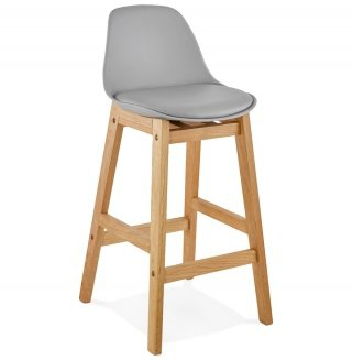 Tabouret de bar design ELODY MINI KOKOON BS01460GRGR