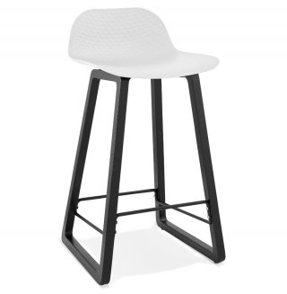Tabouret de bar design MIKY MINI KOKOON BS01680WH