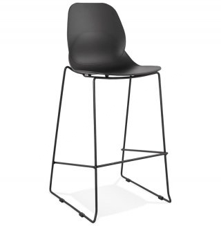 Tabouret de bar design ZIGGY KOKOON BS01700BLBL