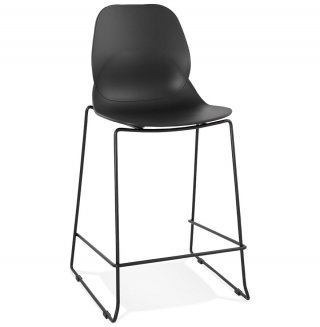 Tabouret de bar design ZIGGY MINI KOKOON BS01710BLBL